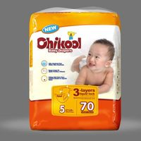 Super absorbency baby diaper