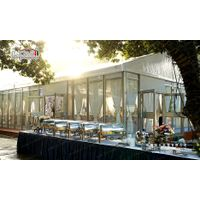 300 People Party Marquee with Glass Wall for Outdoor Parties
