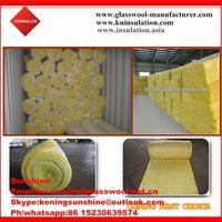 Glass wool blanket/glass wool/heat insulation fiberglass for roof insulation thumbnail image