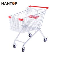 Europe supermarket shopping trolley with baby seat HAN-E100 4201