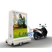 Scooter advertising trailer,light box,mobile light box thumbnail image