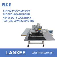 Lanxee PLK-E computer programmable automatic pattern sewing machine