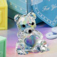 Blue Crystal Teddy Bear Weeding Favor thumbnail image