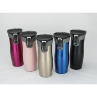 Eco drinkware GV001 Coffee Thermos, Stainless Steel Travel Mug, Double Wall Vacuum Insulated Water