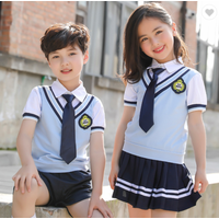 Summer kindergarten garden wear Primary school pupil British College style children's day new school
