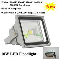 10W Waterproof LED Flood Light Outdoor Lighting 10000K/20000K High Brightness Led Floodlight