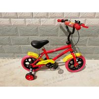 Kids bike,four wheels for safe,MTB,colorful children's bicycle with all dimension