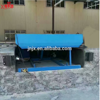 10 ton hydraulic cylinder truck leveller forklift loading ramps