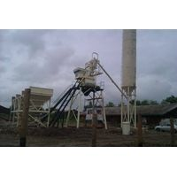 fixed cement concrete plant 25m3/h, concrete mixing station