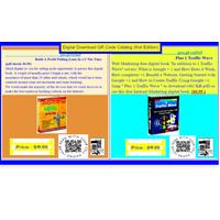 New QR Code Digital Downloadable Goods PDF (file) Catalog Concept