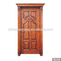Wholesale Fashionable Design MDF Door, Newest Wooden Interior Veneer Door thumbnail image