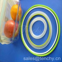 Silicone Sealing Rings for Plastic Box, Food Container thumbnail image
