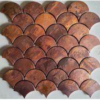 15X150mm Antique copper tile MA003 thumbnail image