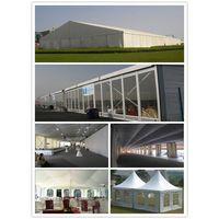 big wedding tent, luxury marquee wedding tent, pagoda party wedding tent thumbnail image