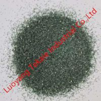 Bonded abrasives green silicon carbide