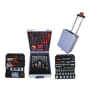 186 pcs tool sets in aluminium case