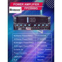 Amplifier stereo system FP22000Q integrated audio mixer amplifier 10000 watt power amplifier