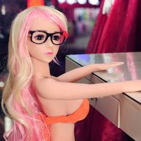 New design drop shipping sexy nude beautiful girl full body japan silicone 100cm sex doll