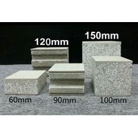Fireproof Solid EPS Cement Sandwich Panel heat insulation board for prefab house thumbnail image