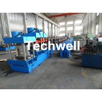 CZ Purlin Forming Machine With Pre-punching & Pre-cutting For Mesh Guards Covered thumbnail image