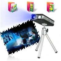 4GB Mini portable Multimedia Projector Supoort Micro SD expand