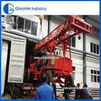 GL-IIA portable trailer water well drilling rigs for sale
