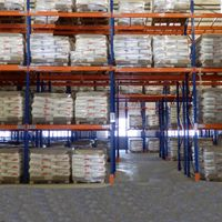 Stackable industrial pallet rack dividers for sale