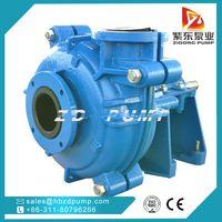 ZHR rubber liner slurry pump mining dewatering pump