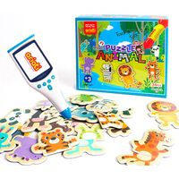 Sound magnet puzzle - Animals