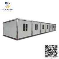 container homes 40ft house detachable flat pack container house folding house