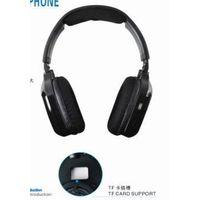 A-361 Insert TF Card Wireless Headphone With USB Data Cable
