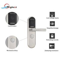 RX1088E-Y hotel door lock system with free software