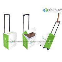 Folding Corrugated Cardboard Trolley Boxes on Wheel