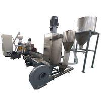 plastic pelletizing machine for plastic flakes thumbnail image