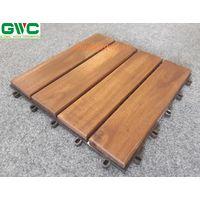 Acacia Deck Tile 4 slats