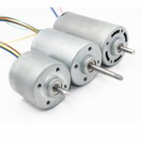 36v 48v low speed 42mm brushless dc gear motor BL4235 with metal gearbox with brake bl4235i b4235m thumbnail image