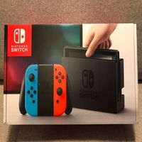 Original Brand New Nintendo Switch 32GB Console With Neon Red/Neon Blue Joy-Con thumbnail image