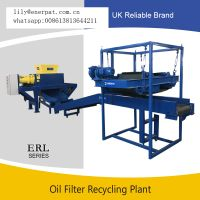 Top Quality Complete Oil Filter Recycling Line with Ce Certificate