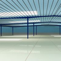 Industrial Attractive prefab steel structure Refrigerated warehouse