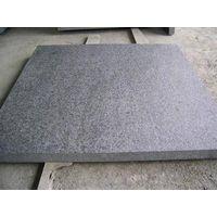 Flamed Black basalt stone tile