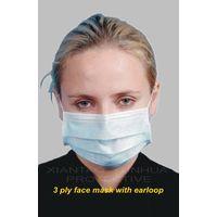 3 ply Non-woven Face Mask