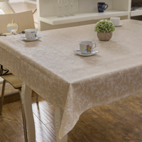 linen table cloth, water proof and oil proof
