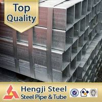 galvanzied rectangular steel pipe rectangular hollow section