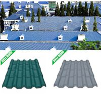 High impact fiber glass reinforced PVC plastic roof tile/new building material PVC roof sheet