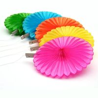 Small Wholesale Order Paper Fans for Wedding, Baby Shower Homedecoration