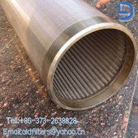 100 m stainless steel screen johnson