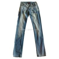 Latest design cotton casual style straight men's jeans