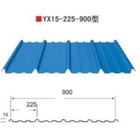 Prefabricated metal corrugated steel roofing sheet thumbnail image