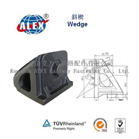 Casting Wedge locomotive parts for Kazakhstan