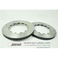 DICKASS Auto Brake Disc 355*32mm Grooved Line Surface